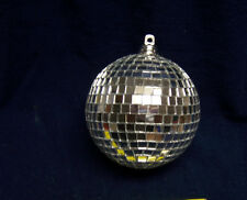 """2"""" SILVER MIRRORED DISCO BALL glass mirror party favor car hanging"""