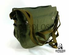 Soviet Russian gas mask khaki canvas carrying Bag Hard cover. From EO-19 gasmask