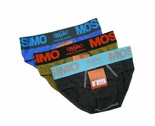 "NEW! AUTHENTIC MEN'S BRIEF UNDERWEAR (SIZE MEDIUM /W28-30"", PACK OF 3 PRS)"