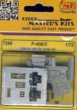 cmk P-40B/C-Interior set + Ätzteile Airfix Academy HobbyBoss 1:72 Modell-Bausatz
