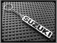 KEYRING for SUZUKI GSXR TL SV HAYABUSA - STAINLESS STEEL - HAND MADE - CHAIN FOB
