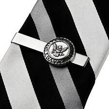 Navy Tie Clip - Tie Bar - Clasps - Business Gift - Handmade - Gift Box