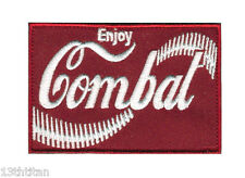 Velcro patch Enjoy combat Airsoft Cola Funny Morale tactical