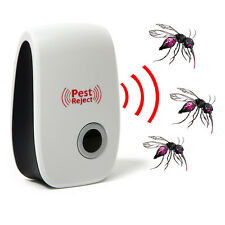 EU plug Electronic Ultrasonic Anti Mosquito Insect Mouse Pest Repeller Reject