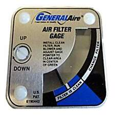 General Aire G99 Media Air Cleaner Gage 0.1 to 0.4 inches w.c.