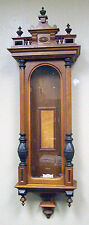 Solid Oak 3 Finial Full Column Case for German Vienna Regulator 3 Weight Clock