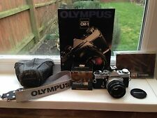 Olympus OM-1 35mm SLR Camera + Zuiko 50mm f1.8 Lens + Case + Manual + Cap +Strap