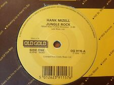 OLD GOLD collection /HANK MIZELL / vinyl 45rpm Single JUNGLE ROCK