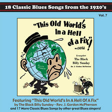 Tefteller's Blues Images Classic Paramount Blues Songs From the 1920's CD Vol. 7