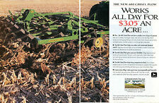 1994 John Deere 680 Chisel Plow Tractor 2 Page Print Ad