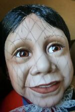 "Large Hispanic Porcelain Doll ""Maria"" 24"" 413/1500 by World Gallery Dolls"