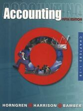 Accounting, Chapters 1-23 Vols. 1-18 by Linda Smith Bamber, Charles T....