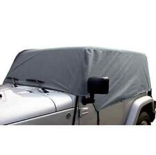 RAMPAGE 1261 -Gray Custom Cab Covers for Soft/Hard Top fits 76-06 Jeep Wrangler