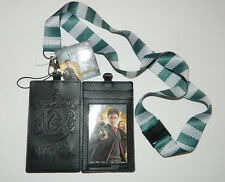 Harry Potter House Of Slytherin Colors Lanyard with Slytherin Logo Badge Holder