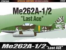 "1:72 SCALE ACA12542 - Academy  Me262A-1/2 ""Last Ace"" Limited Edition"