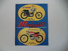 advertising Pubblicità 1972 MOTO MALAGUTI HOMBRE 50/CAVALCONE CROSS 50 R