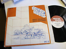 BRUTON MUSIC LIBRARY Bright Orchestra Trevor Bastow Richard Hill 1979 brg10 lp !