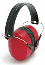 Blackrock Red Folding Ear Defenders Safety Muffs SNR 30db Protection (7210300)