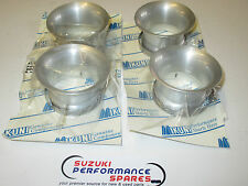 XR69 Wes Cooley Mikuni RS flatslide genuine bellmouths. set 4.