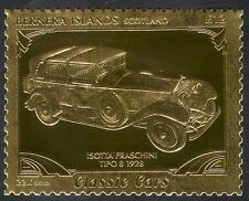 Bernera (L) Isotta/Vintage Car/Gold/Transport/Motoring 1v (s6234)