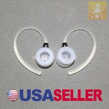 2X EARHOOK FOR MOTOROLA HX550 HX-550 HEADSET EAR HOOK LOOP CLIP EARLOOP NEW