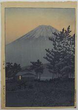 Kawase Hasui - Lake Yamanaka - Japanese Woodblock Print