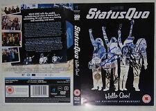 Status Quo Original Autogramme Frantic Four Hello Quo DVD Rick Parfitt signiert