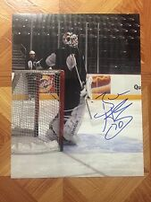 Braden Holtby Autographed Auto Signed 8x10 Photo Hershey Bears Capitals #4