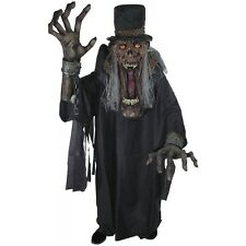 Undertaker Ghoul Creature Reacher Costume Scary Monster Halloween Fancy Dress