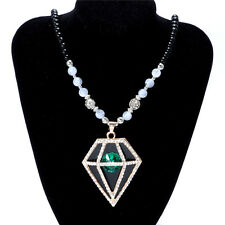 Women's Vintage Fashion Jewelry Hot Charm Crystal Pendant Necklace NEW  B2