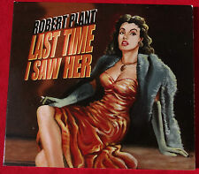 ROBERT PLANT - Last Time I Saw Her / 2 Track CD PROMO Single RARE . Led Zeppelin
