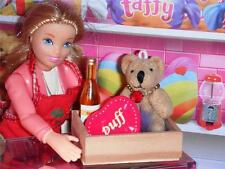 Rement Vday Heart Candy Bear Gift Set fits Fisher Price Loving Family Dollhouse
