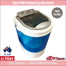 EASYmaxx Mini Washing machine 260W 3kg Top Loader Camping Caravan Washer