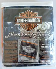 NEW Harley-Davidson 100th Anniversary Open Road Tour Commemorative Blanket/Throw