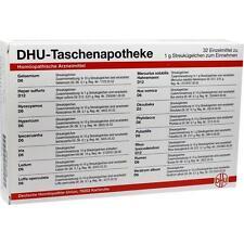DHU Taschenapotheke für zu Hause und   32x 1g   PZN 2640407