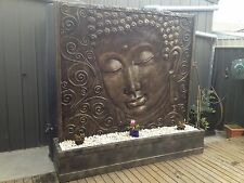 HUGE SERENE BUDDHA/BALINESE WATER FEATURES -  1.65M x 1.65M SIZE!!