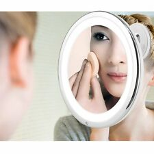 LED Lighted Touch Control Makeup Mirror 7X Magnifier Beauty Cosmetic Mirror 01