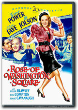 Rose of Washington Square DVD New Tyrone Power, Alice Faye, Al Jolson