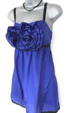 BNWT Lipsy Blue Flower Front Evening Occasion Dress 12 NEW
