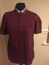 Mens Polo Shirt Ted Baker Size 4