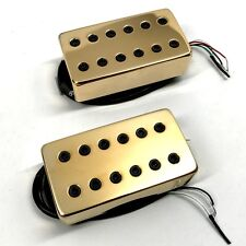 Bare Knuckle Juggernaut Calibrated Covered Pickup Set Wide 53mm Gold Covers