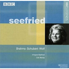Irmgard Seefried: BBC Legends: Brahms Schubert Wolf New/Sealed