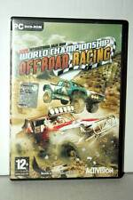 WORLD CHAMPIONSHIP OFF ROAD RACING USATO PC DVD VERSIONE ITALIANA RS2 39638