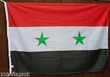 Syria Flag - 2:3 Ratio with Correct Pantone Colours *** TO CLEAR ***