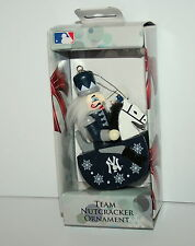 New York Yankees Baseball Rocker Team Mini Nutcracker Holiday Ornament New Box