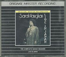 Vaughan, Sarah Live in Japan MFSL Silver Doppel CD MFCD 2-844