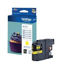 Brother LC123 (Yellow) Ink Cartridge (Yield 600 Pages) for Brother