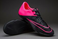 NEW! Nike Mercurial Victory V IC Indoor Soccer Shoes Size 10.5 Black Hyper Pink