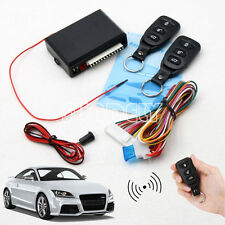 Car 2 Central Remote Keyless Entry Door Locking Kit Universal Vehicle System DT