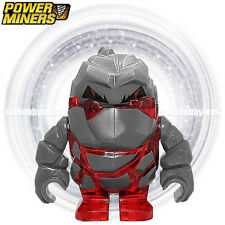 LEGO Power Miner Minifigures - Rock Monster : Meltrox (Trans-Red : 8956 , 8961 )